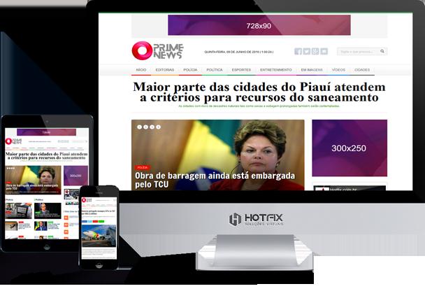 Criar Portal de Notícias Administrável Hotfix Press