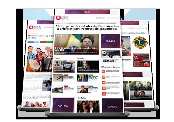 Script portal de notícias Hotfix Press